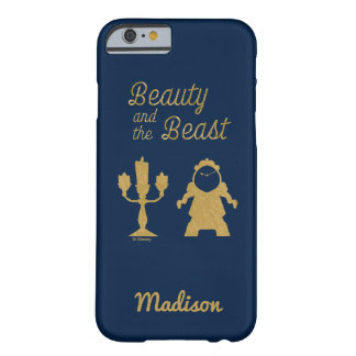 Capa Barely There Para iPhone 6 Belle | Lumiere e Cogsworth