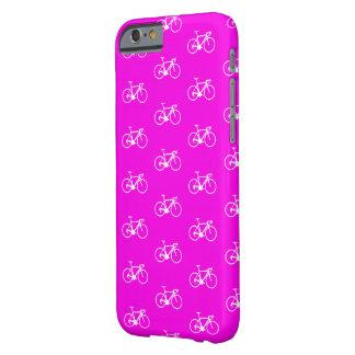Capa Barely There Para iPhone 6 Bicicletas do rosa quente