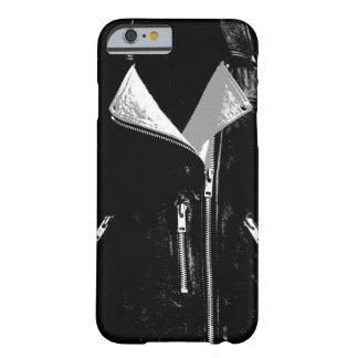 Capa Barely There Para iPhone 6 Caixa branca do iPhone 6 do casaco de cabedal