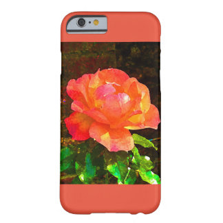 Capa Barely There Para iPhone 6 Caixa cor-de-rosa do iPhone 6 da laranja