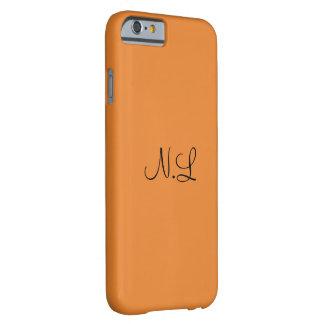 Capa Barely There Para iPhone 6 Casco N.L Cor de laranja