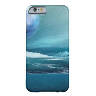 Capa Barely There Para iPhone 6 Caso ártico do iPhone 6/6s do gelo marinho da lua