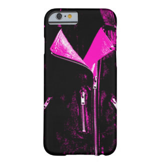 Capa Barely There Para iPhone 6 Caso cor-de-rosa do iPhone 6 do casaco de cabedal