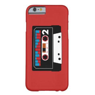 Capa Barely There Para iPhone 6 Caso do iPhone 6 da cassete de banda magnética