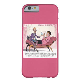 Capa Barely There Para iPhone 6 Caso reverso engraçado do iPhone 6 da terapia da