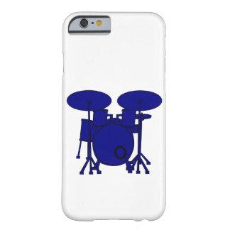 Capa Barely There Para iPhone 6 Cilindro azul