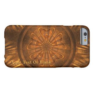 Capa Barely There Para iPhone 6 Cinzeladura de madeira