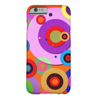 Capa Barely There Para iPhone 6 Círculos íntimos #6