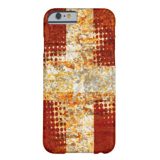 Capa Barely There Para iPhone 6 Cruz de intervalo mínimo religiosa do Grunge