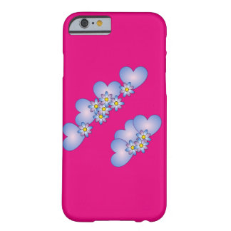 Capa Barely There Para iPhone 6 Design floral