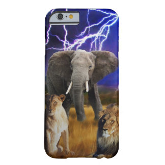 Capa Barely There Para iPhone 6 Elefante África do Sul dos leões