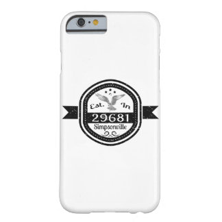 Capa Barely There Para iPhone 6 Estabelecido em 29681 Simpsonville