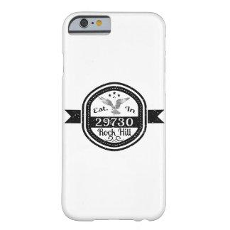 Capa Barely There Para iPhone 6 Estabelecido no monte de 29730 rochas