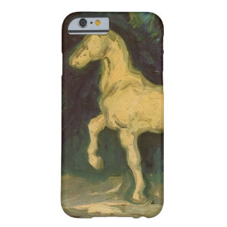 Capa Barely There Para iPhone 6 Estatueta de um cavalo, arte do emplastro de Van
