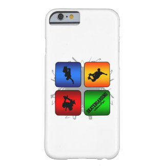 Capa Barely There Para iPhone 6 Estilo urbano Skateboarding de surpresa