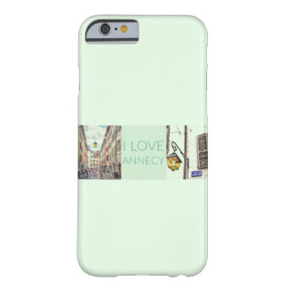 "Capa Barely There Para iPhone 6 ""Eu amo caso do iPhone 6/6S da case mate de"