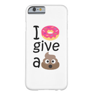 Capa Barely There Para iPhone 6 Eu rosquinha dou um emoji do tombadilho