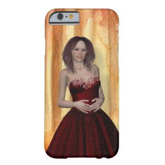 Capa Barely There Para iPhone 6 exemplo bonito da menina Iphone6