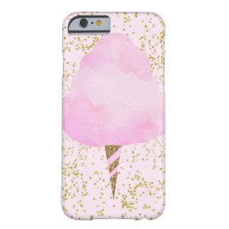 Capa Barely There Para iPhone 6 Feminino bonito do divertimento dos confetes do