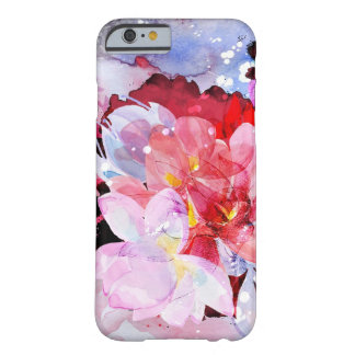 Capa Barely There Para iPhone 6 Flores da aguarela