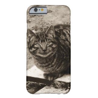 Capa Barely There Para iPhone 6 Gato de sorriso