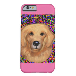 Capa Barely There Para iPhone 6 Golden retriever