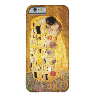 "Capa Barely There Para iPhone 6 Gustavo Klimt ""o beijo """