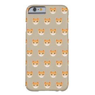 Capa Barely There Para iPhone 6 Ilustração bonito do gato de gato malhado