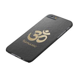 Capa Barely There Para iPhone 6 Instrutor da mediação da ioga do símbolo de OM do