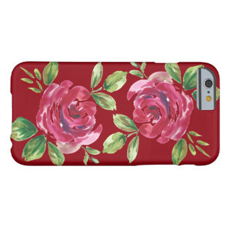 Capa Barely There Para iPhone 6 inverno floral