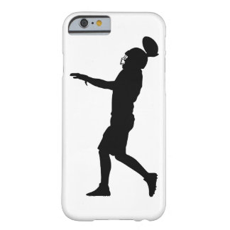 Capa Barely There Para iPhone 6 Jogador de futebol americano