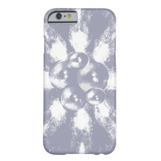 Capa Barely There Para iPhone 6 Luz - auto-falante azuis da música