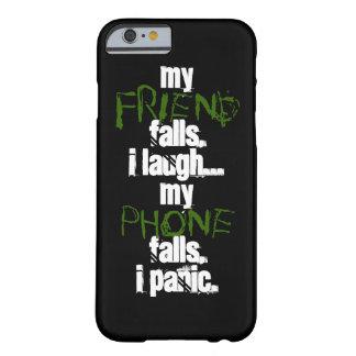 Capa Barely There Para iPhone 6 Meu amigo, meu caso de IPhone 6 do verde do preto