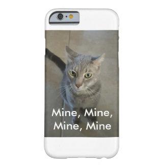 Capa Barely There Para iPhone 6 Mina, mina, caso do telemóvel da mina