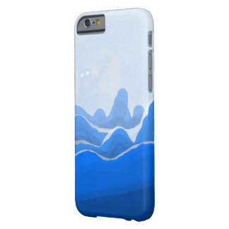 Capa Barely There Para iPhone 6 Montanha do azul