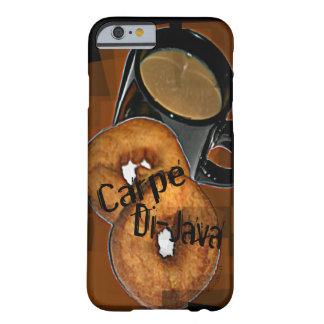 Capa Barely There Para iPhone 6 O café & as rosquinhas de Carpe Di-Java cabem