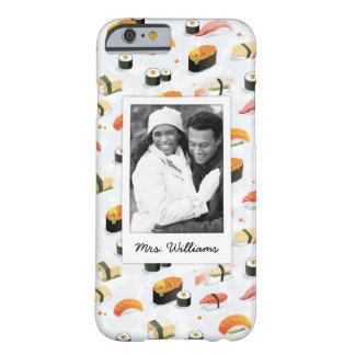 Capa Barely There Para iPhone 6 O teste padrão japonês | do sushi da comida |