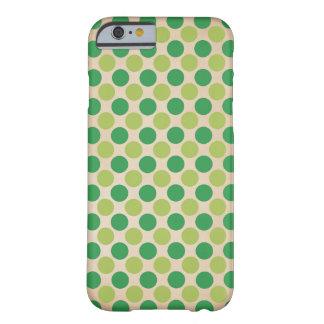 Capa Barely There Para iPhone 6 O vintage retro verde circunda o caso do iphone 6