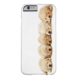 Capa Barely There Para iPhone 6 Os filhotes de cachorro do golden retriever