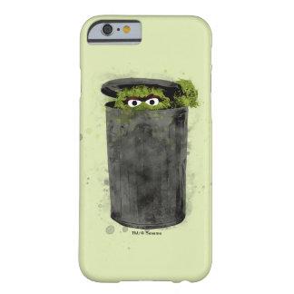 Capa Barely There Para iPhone 6 Oscar a tendência da aguarela do Grouch |