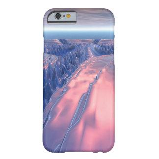 Capa Barely There Para iPhone 6 Paisagem da geleira do Fractal