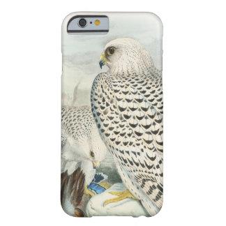 Capa Barely There Para iPhone 6 Pássaros escuros adultos do falcão de Greenland de