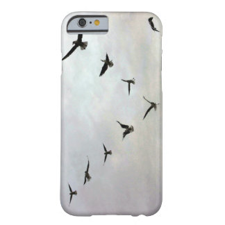 Capa Barely There Para iPhone 6 Pássaros que voam a caixa do iPhone 6/6s