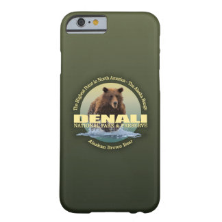 Capa Barely There Para iPhone 6 PESO de Denali NP (urso)