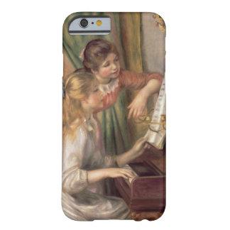 Capa Barely There Para iPhone 6 Pierre raparigas de Renoir um | no piano