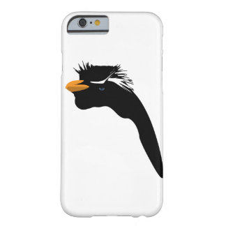 Capa Barely There Para iPhone 6 Pinguim no preto