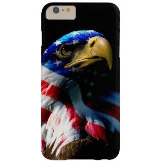 Capa Barely There Para iPhone 6 Plus Americano patriótico Eagle