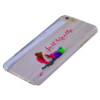 Capa Barely There Para iPhone 6 Plus Apenas respire o iPhone 6/6s mais o caso