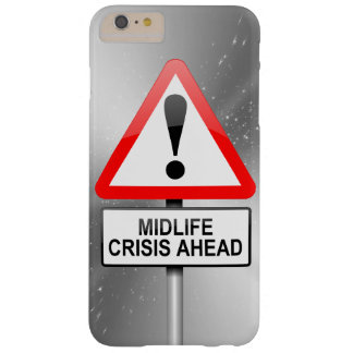 Capa Barely There Para iPhone 6 Plus Aviso da crise do Midlife