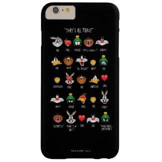 Capa Barely There Para iPhone 6 Plus Carta LOONEY de TUNES™ Emoji